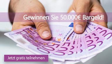 50.000 € Bargeld